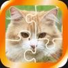 ジグソーパズル - 猫 - かわいいねこ