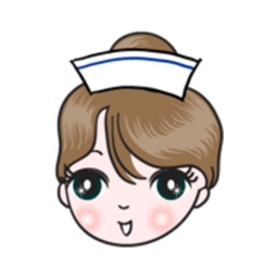 Big Eyes Nurse stickers by wenpei