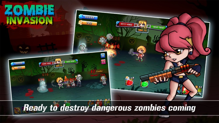 Zombie Invasion 1.0 screenshot-0
