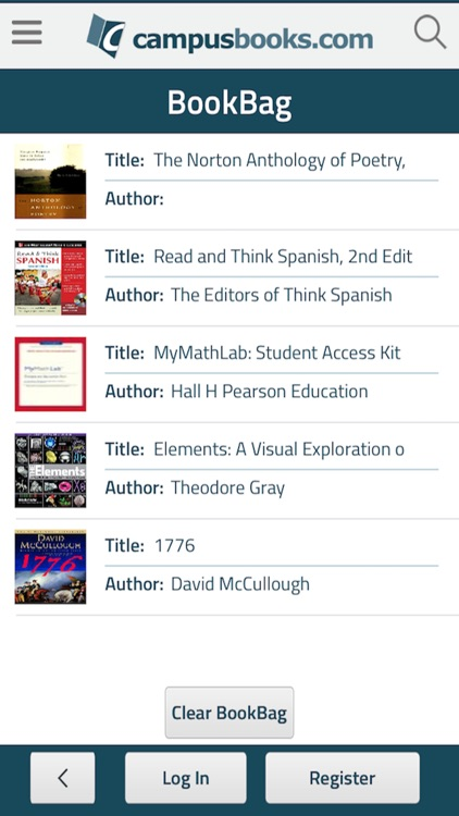 CampusBooks screenshot-4
