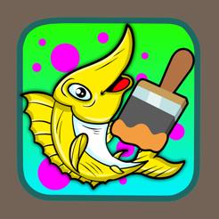 Kartun Melukis Dan Menggambar Ikan Nemo Mewarnai Di App Store
