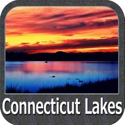 Connecticut lakes - fishing GPS charts Navigator