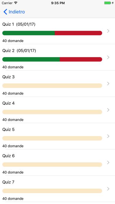 Screenshot of Quiz Patente di Guida 2017 Gratis4