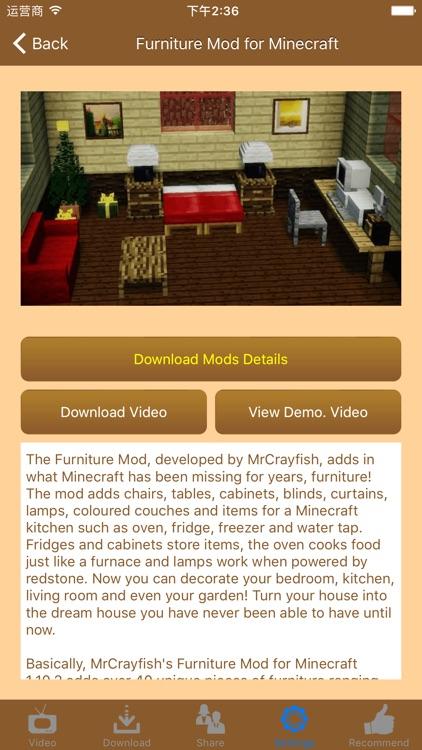 Latest Furniture Mods for Minecraft (PC) screenshot-3