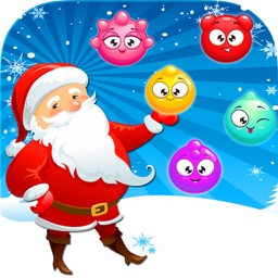 Christmas Ball Santa Pop Game