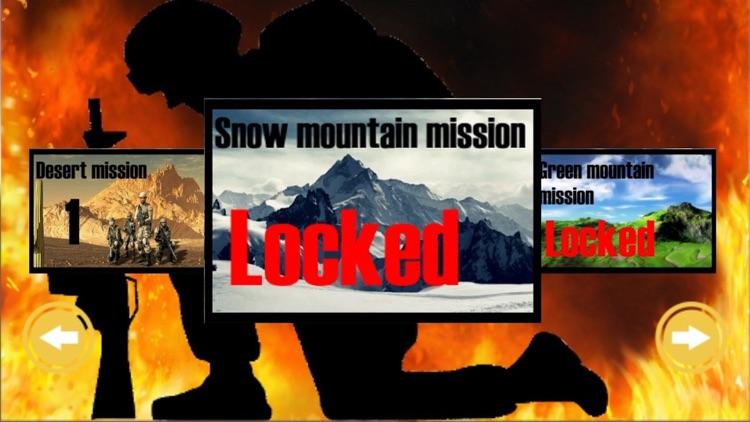 War of IGI Commando Frontline Mountain Attack 2 screenshot-3