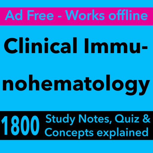 Clinical Immunohematology Exam Review-Terms & Quiz