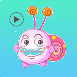 Stickers Baby Snails Animated