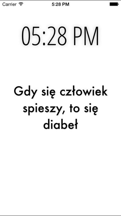 Polish Proverbs screenshot-3