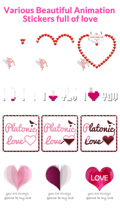 Lovely Animated Stickers screenshot 5