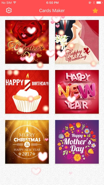 Greeting Cards Make.r-Design and create Ecards
