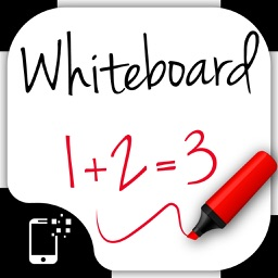 Whiteboard for kids: toddlers draw and color board