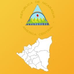 Nicaragua Department Maps and Capitals