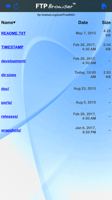 FTP Browserのおすすめ画像2