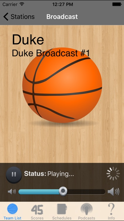 College Basketball Radio, Schedule & Live Scores screenshot-2