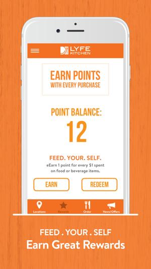 Lyfe Kitchen Rewards En App Store