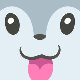 Grey Squirrel Emojis
