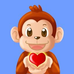 Aki the monkey teaches values - Sharing