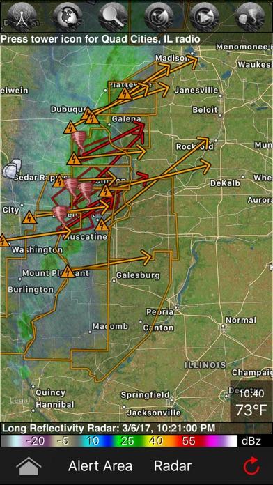 download TornadoSpy+: Tornado Maps, Warnings and Alerts apps 2