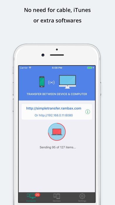 Simple Transfer Pro - Photo Скриншоты4