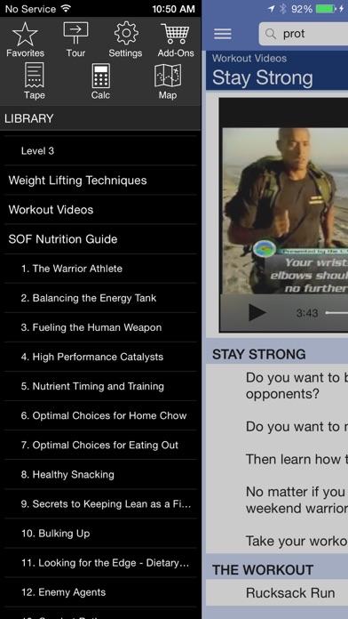 Navy Seal Fitness review screenshots