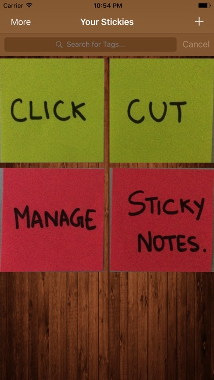 StickyCut Click. Cut. Manage.