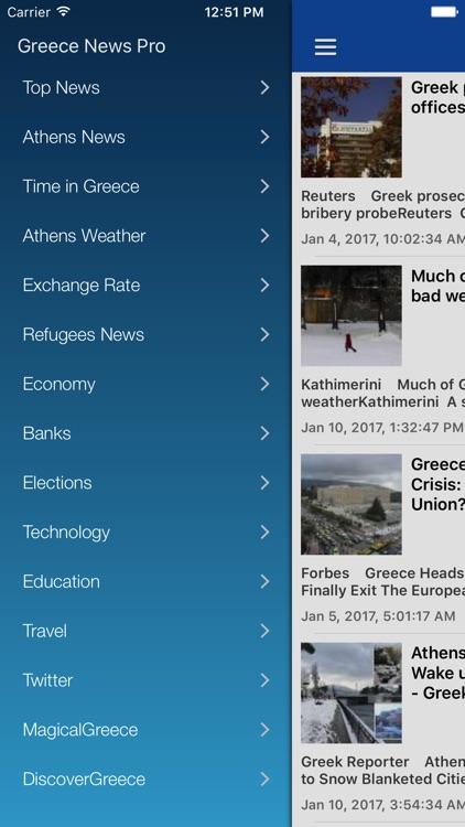 Greek News in English & Greece Radio Pro