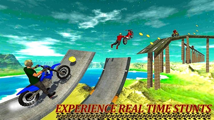 Jumping Moto Bike Stunts screenshot-3