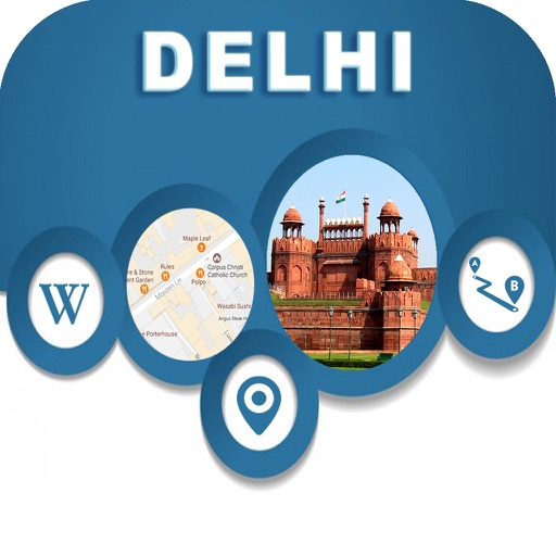 Delhi India Offline City Maps Navigation
