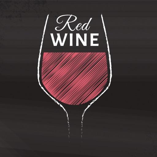 Hand Drawn Wine Stickers