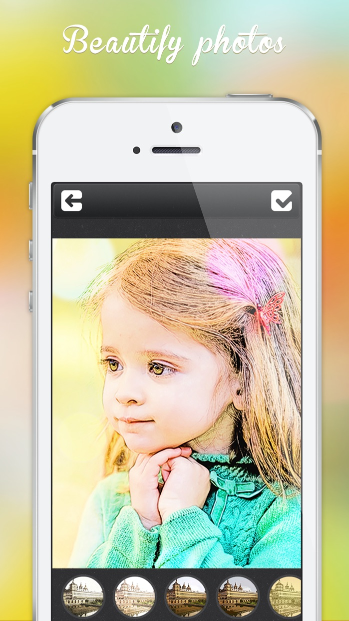 Photo Editor - Picture Filters Blur Effects Cam Screenshot