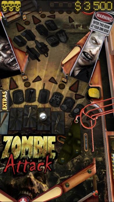 Zombie Attack Pinball HD: Monster Challenge screenshot three