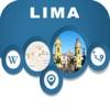 Lima Peru City Offline Map Navigation EGATE