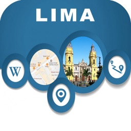 Lima Peru City Offline Map Navigation EGATE