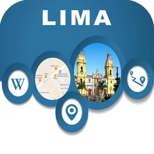 Lima Peru City fline Map Navigation EGATE by Egate IT Solutions