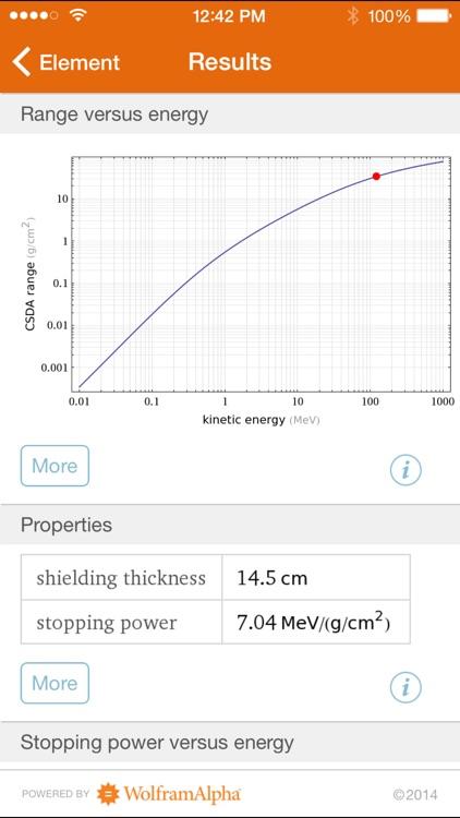 Wolfram Radiation Protection Reference App screenshot-4