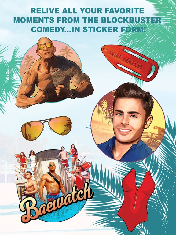 Baywatch Stickers screenshot #2