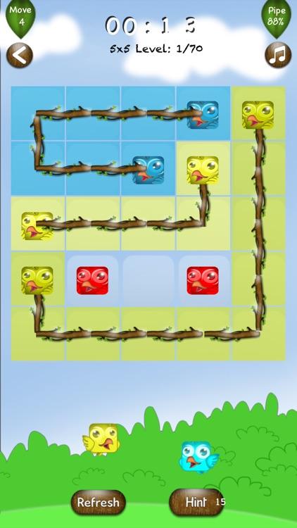 Link Birds Line