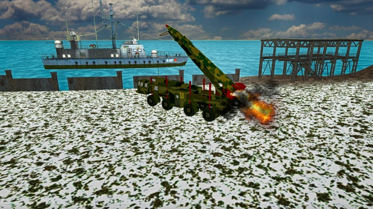Drive US Army Off Road: Truck Missile Launcher screenshot-0