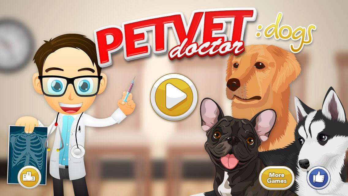 Pet Vet Doctor Dogs Screenshot
