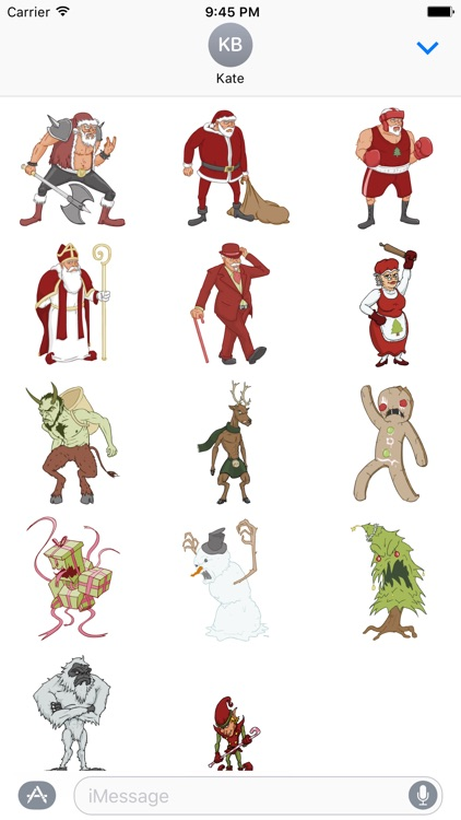 The Fight Before Christmas Stickers!