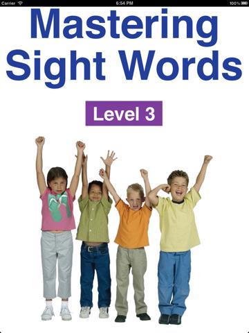 Mastering Sight Words Level 3 - náhled