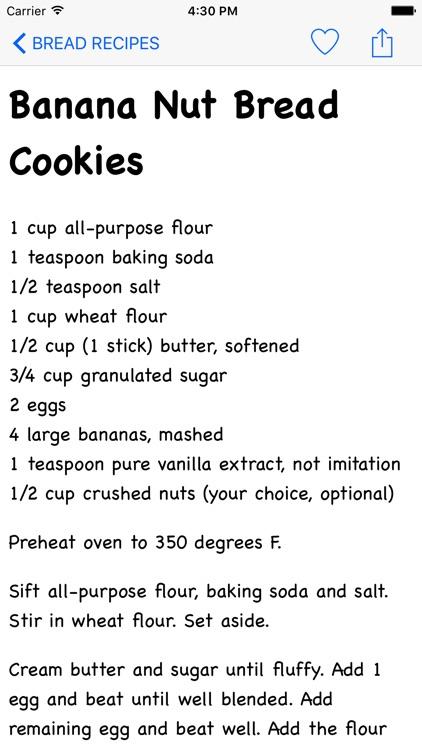Bread Recipes Ultimate Version screenshot-3