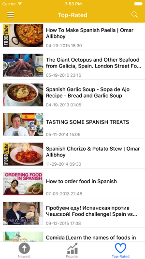 Spain News In English Today Spanish Radio On The App Store