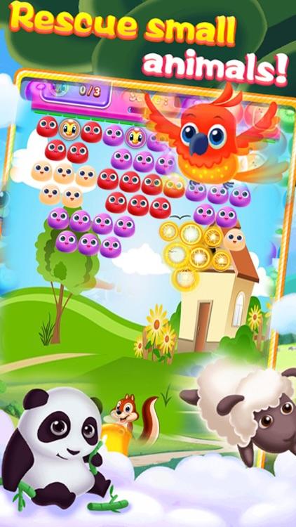 Shoot Bubble Birds Blitz