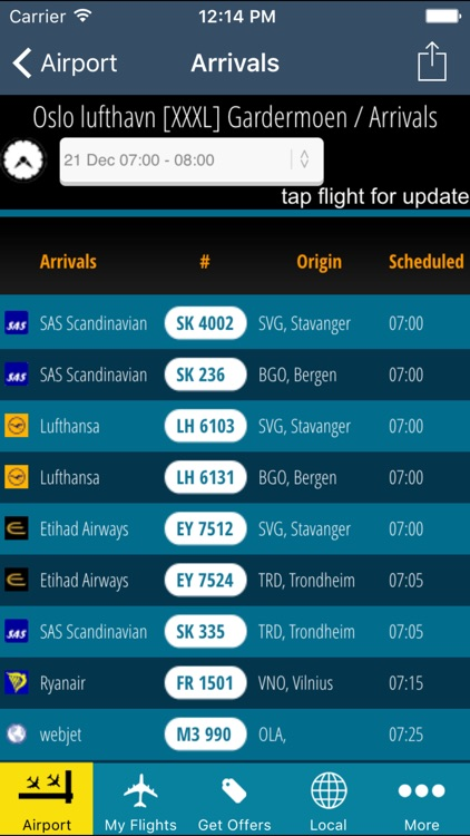 Oslo Airport Pro (OSL) + Flight Tracker screenshot-2