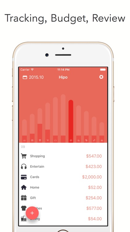 Hipo - Track your expenses screenshot-0