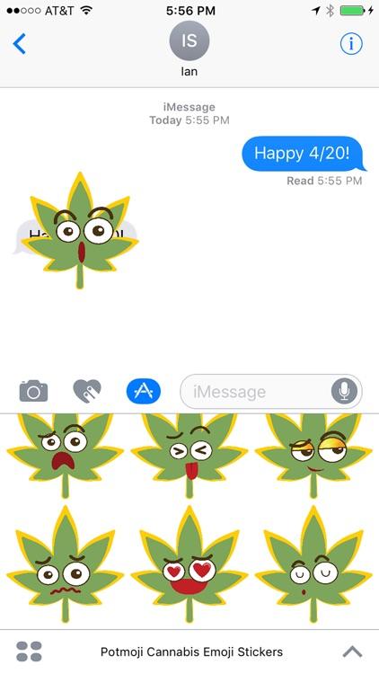 Potmoji Cannabis Emojis
