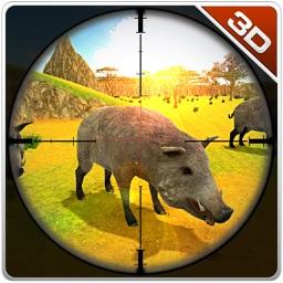 Boar Hunter & Wild Safari Animal Shooting Game
