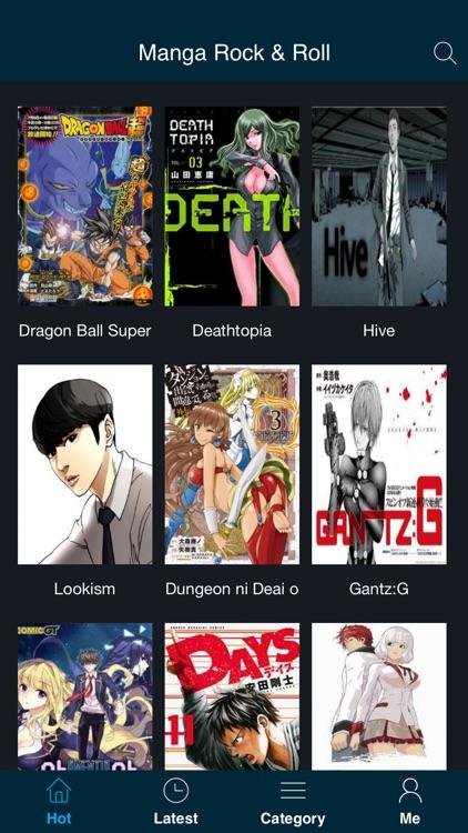 Manga Rock and Roll - Free Manga and Comic Reader
